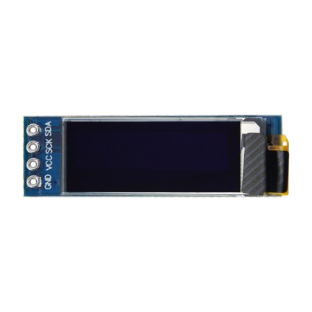 "Display OLED 128x32 Px - 0.91"" - 4 Pin - Azul"