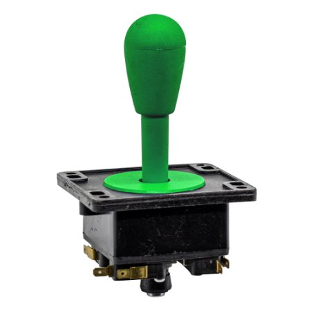 Joystick Controle Arcade Fliperama Verde 1Un
