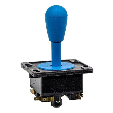 Joystick Controle Arcade Fliperama Azul 1Un