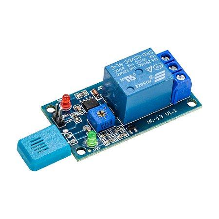 Sensor de Umidade do Ar HR202 com Relé 5V