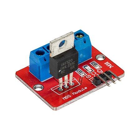 Módulo MOSFET IRF520 PWM