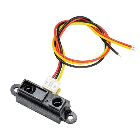 Sensor de distância analógico Sharp GP2Y0A21YK0F 10-80cm