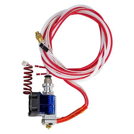Kit Extrusora de Impressora 3D Hotend V6 1.75mm 12V + Cooler