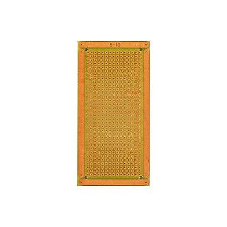 Placa Circuito Ilhada 5x10 PCI Matriz 15x34 furos