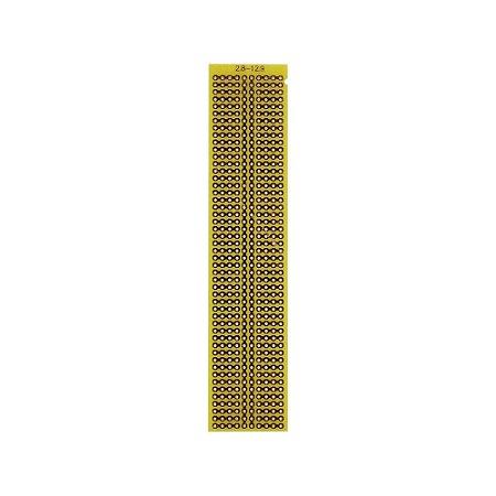 Placa Circuito Ilhada 2.8x12.9 PCI Matriz 10x49 furos