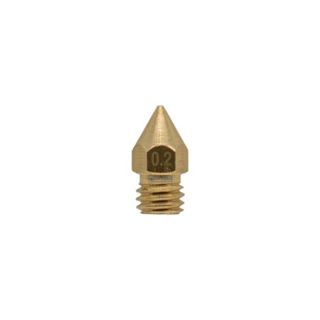 Nozzle Bico Hotend 1.75mm M6 0.2mm 3D Printer