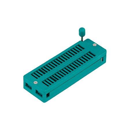 Soquete ZIF Textool DS-1043 40P padrão DIP
