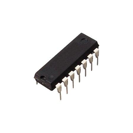 CD4069 CI Porta Lógica NOT Inversor DIP14