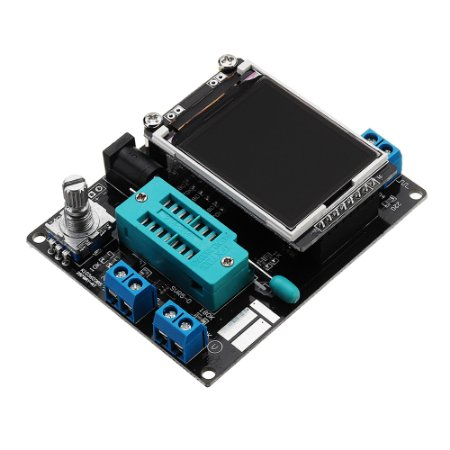 Testador Transistor Capacímetro Indutímetro LCD GM328A