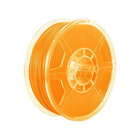 Filamento Impressoras 3D PLA 1Kg 3mm Laranja Marca Texto