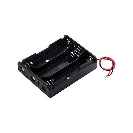 Suporte para 3 Baterias 18650 3,7V