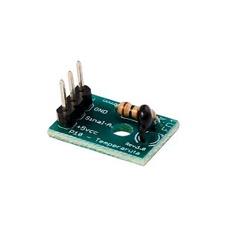 Módulo Sensor de Temperatura NTC 10K GBK P10