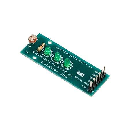 Módulo Sensor de Luz LDR com LEDs GBK P7