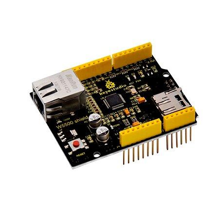 Ethernet Shield W5500 Keyestudio para Arduino