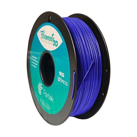 Filamento para Impressoras 3D PET-G 1Kg 1,75mm Azul Escuro