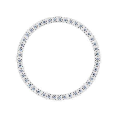 Anel LED RGB Endereçável 5050 WS2812 45 LEDs 120mm