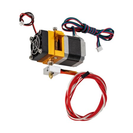 Extrusora Impressora 3D Extruder Mk8 E3D 0.4mm 1.75mm 12V