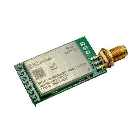 LoRa SX1276 915 MHz RF Módulo E32-915T20D (Sem Antena)