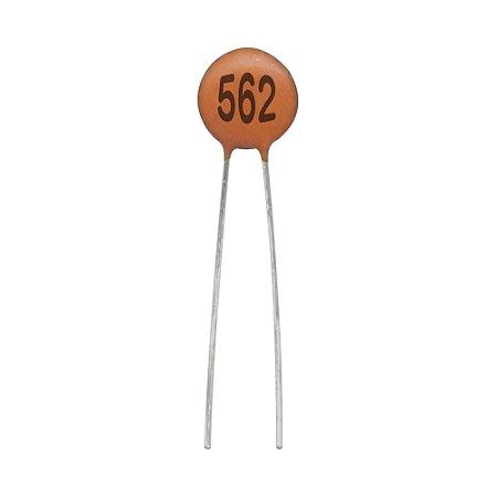 Capacitor Cerâmico 5,6NF / 50V