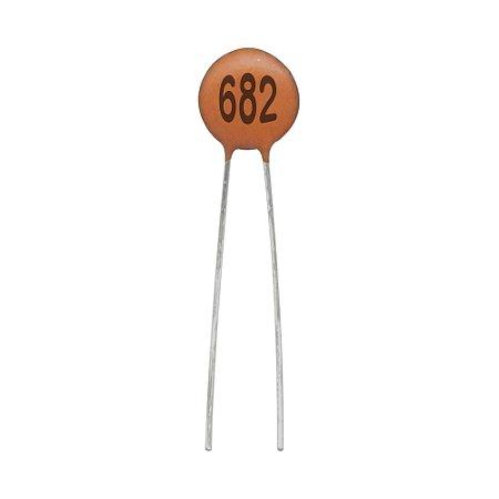 Capacitor de Cerâmica 6,8NF / 50V