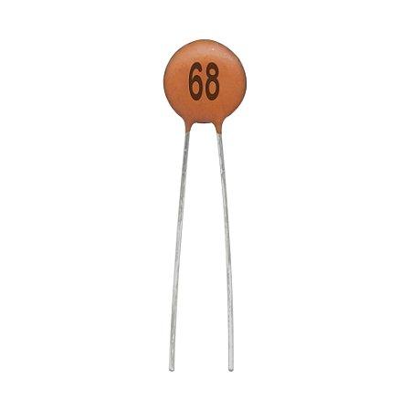 Capacitor de Cerâmica 68PF / 50V
