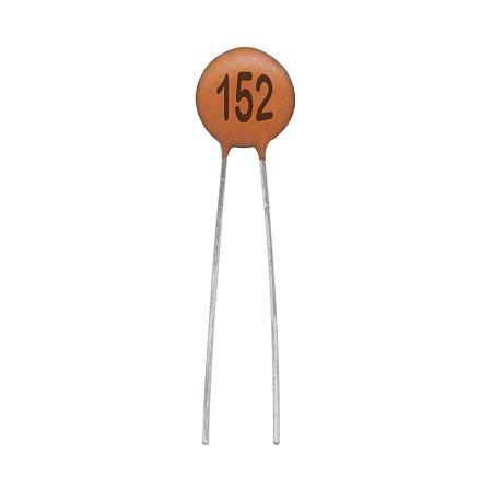 Capacitor de Cerâmica 1,5NF / 50V