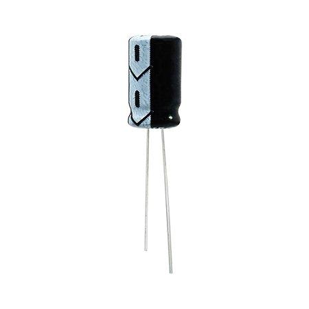 Capacitor Eletrolítico 10uF 25V