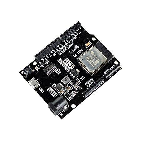 Placa WeMos D1 R32 ESP32 WiFi - Bluetooth