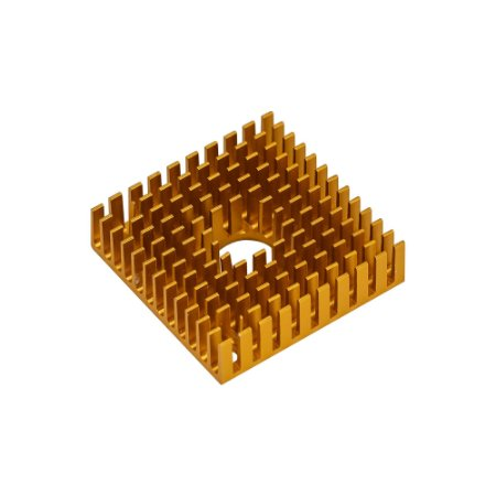 Dissipador de Calor Alumínio 40x40x11mm Mk7 / Mk8 3D Printer
