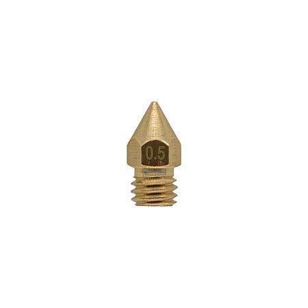 Nozzle Bico Hotend 1.75mm M6 0.5mm 3D Printer