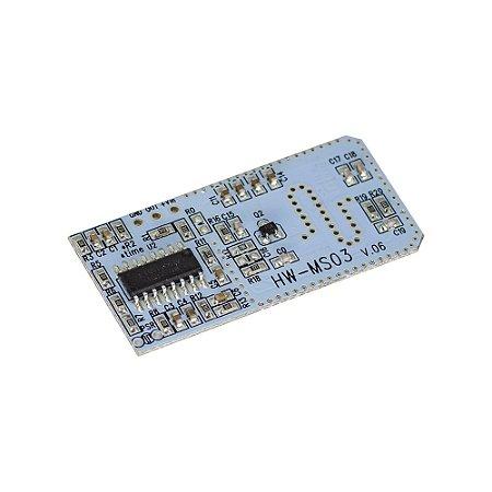 Sensor Movimento Radar Doppler Microondas HW-MS03 V.06
