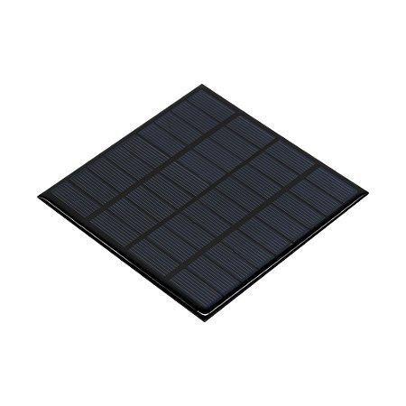 Painel Solar 9V 2W Mini Placa Fotovoltáica 115mm x 115mm
