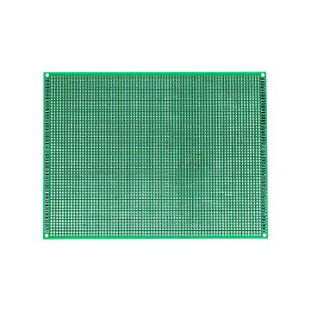 Placa de Circuito Impresso Dupla Face 150x200mm 57x74 Furos