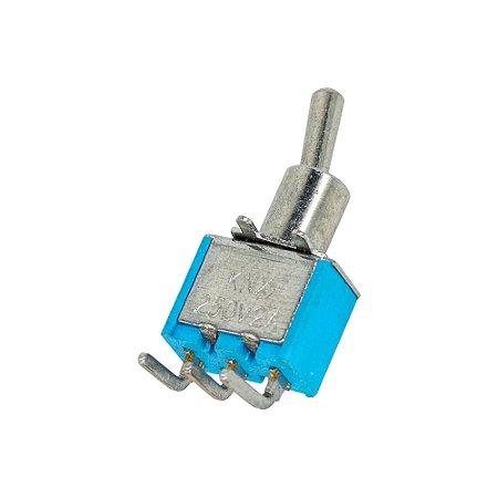 Chave Alavanca MTS102 C3 3T 6A 125-250V 90 Graus