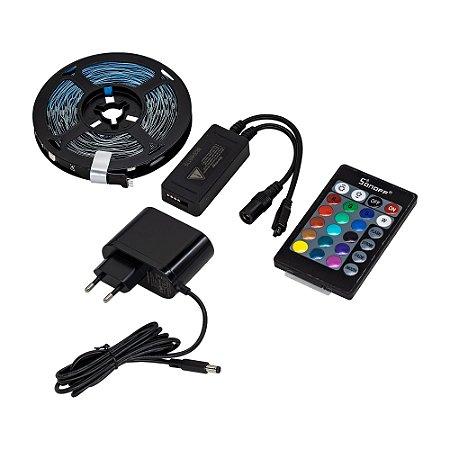 Sonoff Fita De Led Smart RGBW L1 Lite 5 Metros Kit Completo