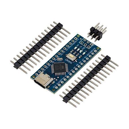 Placa Nano V3 ATmega328P USB-C