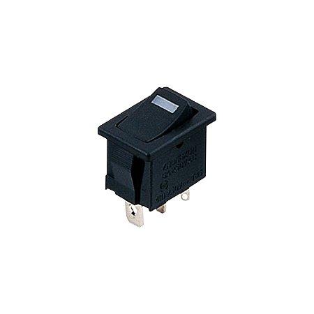 Chave Gangorra KCD1-105N Preto (LED Vermelho)