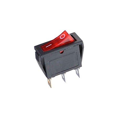 Chave Gangorra KCD3-202N Neon (Vermelho)