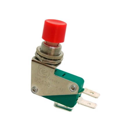 Chave Botão Micro Switch DS438 S/ Trava
