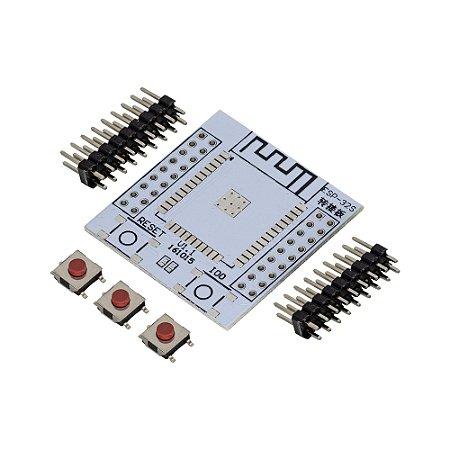 Placa Adaptadora para Soldar Módulo ESP32S Adapter Board