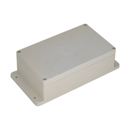 Caixa Plástica ABS 200x120x65MM (Branco)
