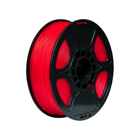 Filamento Impressoras Voolt3D PLA 1Kg 1,75mm Rosa Translúcido