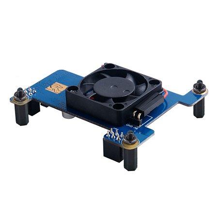 Módulo POE Hat Cooler Fan para Raspberry Pi 4B/3B+