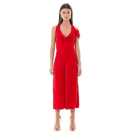 Pantacourt Sofisticati - Vermelho