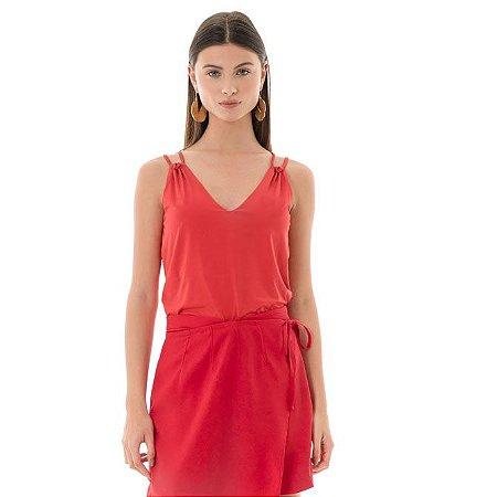 Blusa Fluity - Vermelho