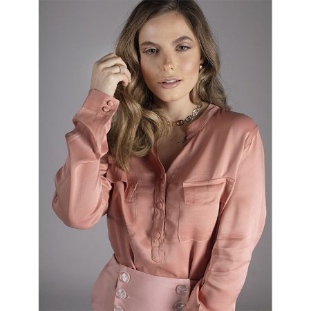 Camisa Sensualité - Rosé