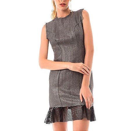 Vestido Tweed Slim