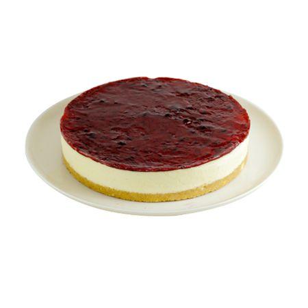Torta Cheesecake de Frutas Vermelhas Zero Açúcar