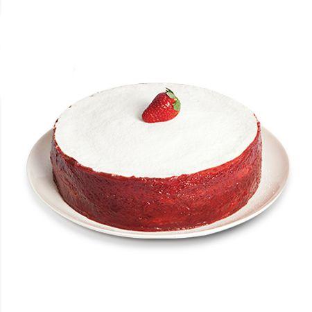 Torta Bem Casado de Morango
