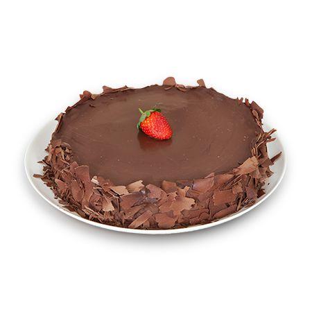 Torta Delícia de Chocolate com Morango